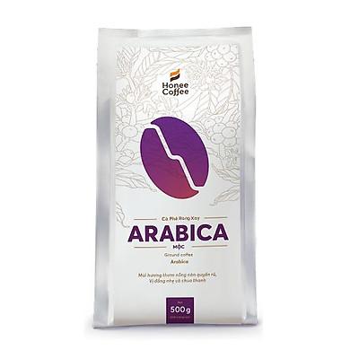 Cà phê hạt rang xay Arabica pha phin/pha máy Honee Coffee - 500g