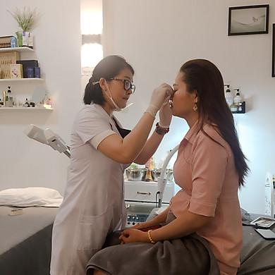 Chăm sóc da trắng sáng tại Vy' Beauty Spa
