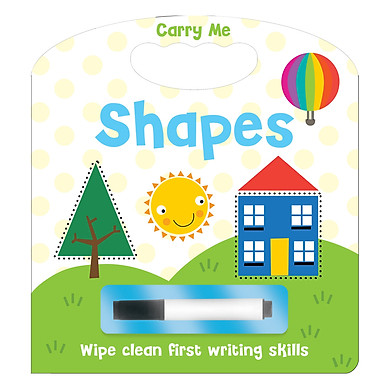 Carry Me Wipe Clean Shapes