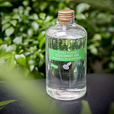 Dầu dừa ép lạnh tinh khiết Coco-Secret 500 ml