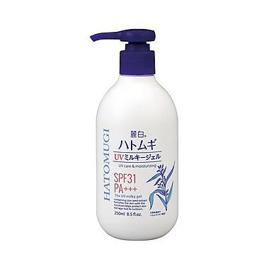 Sữa Dưỡng Thể Chống Nắng Hatomugi SPF31 PA+++ Nhật Bản, 250ml