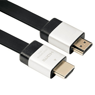 Dây HDMI dẹt 2m Cao Cấp AZONE Hàng Nhập Khẩu