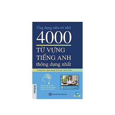 Ứng Dụng Siêu Trí Nhớ 4000 Từ Vựng Tiếng Anh Thông Dụng Nhất ( Tăng Kèm Bút Chì Dễ Thương Ngẫu Nhiên )