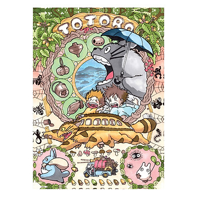 Postcard Artbook The Studio Ghibli Collection - Vol 1