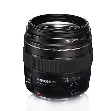 Ống kính Yongnuo 100mm F2 cho Canon tặng lens hood ET65III- Hàng nhập khẩu