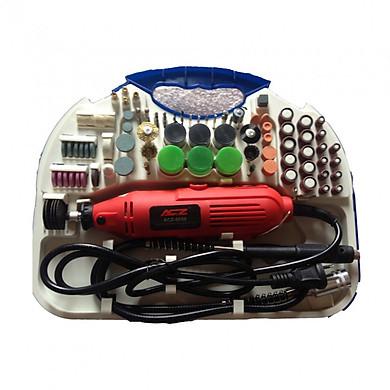 Bộ máy khoan mài cắt khắc mini tặng kèm bộ phụ kiện 105 món ( đánh bóng , Cắt , khắc , gia công , chế tác )
