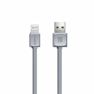 Cáp sạc Lightning Remax RC-008i hỗ trợ sạc nhanh cho iPhone/iPad dài 1m - Hàng Chính Hãng