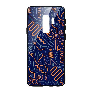 Ốp lưng CƯỜNG LỰC VIỀN ĐEN cho Samsung Galaxy S9 Plus HỌA TIẾT HIỆN ĐẠI - Hàng chính hãng