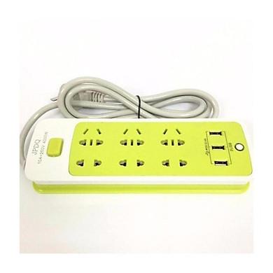 Ổ CẮM SẠC ĐIỆN THOẠI 6 Ổ CẮM, 3 USB cực tiện lợi