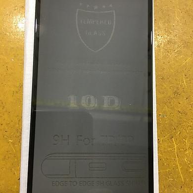 Kính Cường Lực Chống Nhìn trộm 10D cho  Iphone 7/8 plus (Đen)