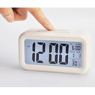 Đồng hồ báo thức điện tử để bàn màn hình đa chức năng thời gian, lịch, báo thức, nhiệt độ DH89