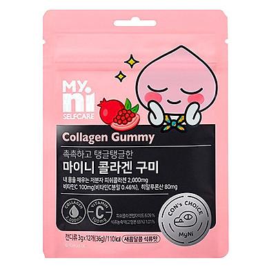 Kẹo Dẻo Bổ Sung Collagen, Làm Đẹp Da Myni Selfcare Collagen Gummy (Gói 12 Viên x 3g)