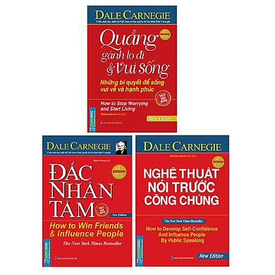 Combo Hộp Sách 3 Cuốn (Đắc Nhân Tâm + Quẳng Gánh Lo Đi Và Vui Sống + Nghệ Thuật Nói Trước Công Chúng) (Tái Bản)