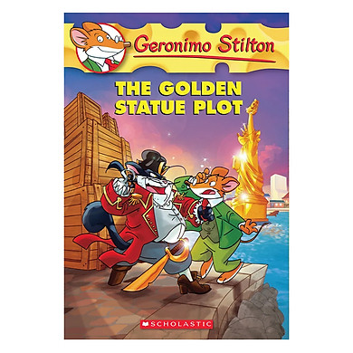 Geronimo Stilton 55: The Golden Statue Plot