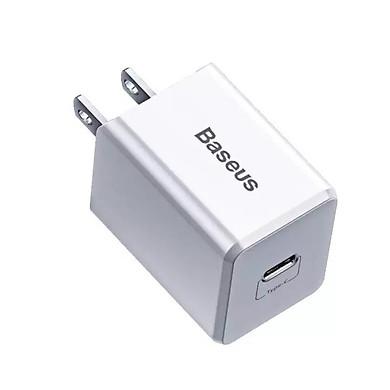Cốc sạc nhanh cao cấp Baseus Traveler PD Quick Charger (PD 3.0 Quick charge + 18W +  Sạc nhanh 3A) - Hàng chính hãng