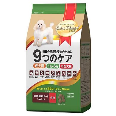 Đồ Ăn Chó Trưởng Thành Giống Nhỏ Hương Vị Cừu Và Gạo SmartHeart Gold (1Kg)