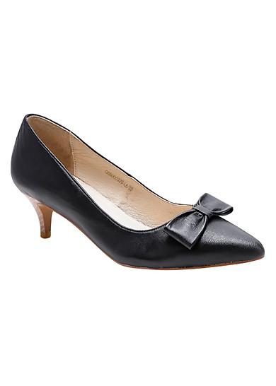 Giày Da Thật Gosto Lucie Kitten GS0000320BLK (Đen)