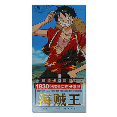 Postcard One Piece Đảo Hải Tặc Hộp 1830 Ảnh