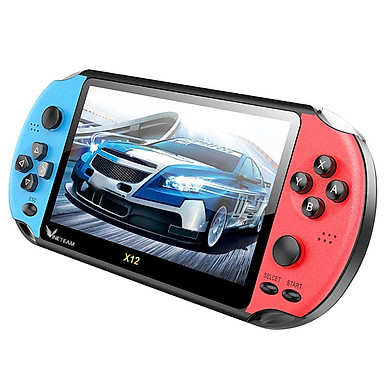 Máy Chơi Game PSP VINETTEAM X12 Tay Cầm Chơi Game 5.1 Inch 8GB Video Game Người Chơi Tích Hợp Sẵn 2000 Trò Chơi- 4075- Hàng Nhập Khẩu( màu ngẫu nhiên)