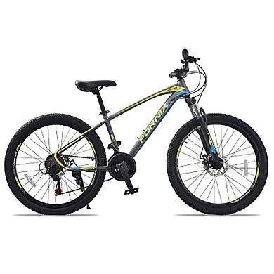 XE đạp địa hình hiệu FORNIX Climber, vòng bánh 26′, màu Xám Vàng