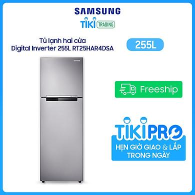 Tủ Lạnh Inverter Samsung RT25HAR4DSA/SV (255L) – Bạc – Hàng chính hãng