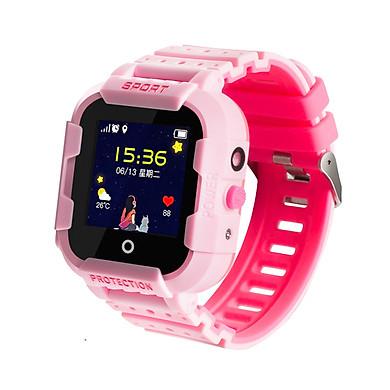 Đồng hồ thông minh định vị trẻ em Wonlex KT03 màu hồng - Hàng Chính Hãng