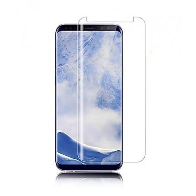 Cường lực Full keo UV cho Samsung S8 - Màu trong suốt