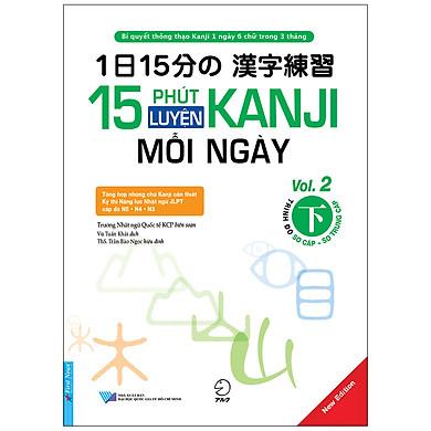 15 Phút Luyện Kanji Mỗi Ngày - Vol.2
