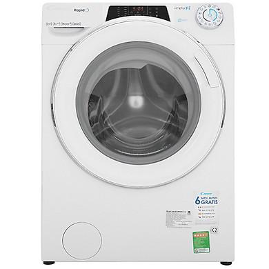 Máy Giặt Cửa Trước Inverter Candy RO16106DWHC71-S (10kg) - Hàng Chính Hãng - Chỉ Giao tại HCM