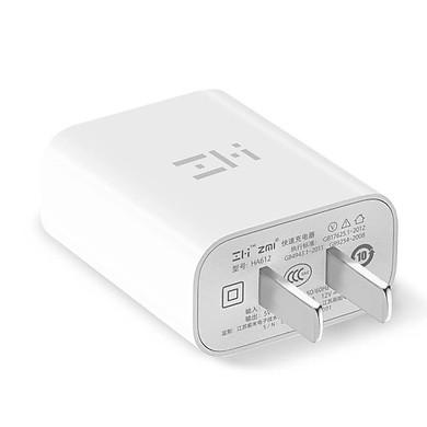 Adapter Sạc 1 Cổng 18W Xiaomi ZMI HA612 Hỗ Trợ Sạc Nhanh QC 3.0 – Hàng Nhập Khẩu