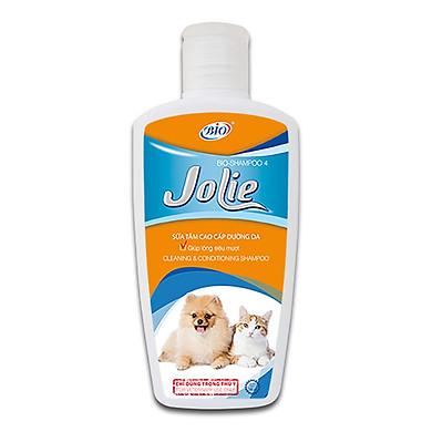 Sữa tắm dưỡng da mượt lông thơm dịu - Jolie 200ml