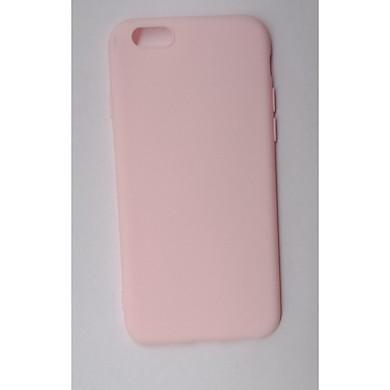 Ốp Lưng Silicon Trơn Màu Mặt Trong Da Lộn  Bảo Vệ Máy Dành Cho IPhone