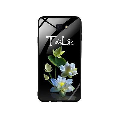 Ốp Lưng Kính Cường Lực cho điện thoại Samsung Galaxy J7 Prime - Lotus 04