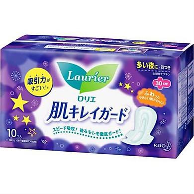 Băng vệ sinh ban đêm có cánh Laurier-Hàng nội địa nhật nhập khẩu