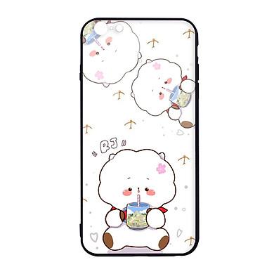 Ốp lưng CƯỜNG LỰC VIỀN ĐEN cho iPhone 6s Plus KPOP_BTS_RJ - Hàng chính hãng