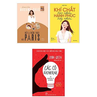 """Combo Sách Dành Cho Phái Đẹp: Các Cô Katherine + Khí Chất Bao Nhiêu, Hạnh Phúc Bấy Nhiêu + Bạn Đắt Giá Bao Nhiêu? (Bộ 3 Cuốn """"Bí Kíp"""" Để Trở Thành Cô Nàng Hạnh Phúc)"""
