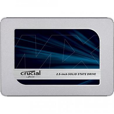 Ổ cứng SSD Crucial MX500 3D-NAND SATA III 2.5 inch 500GB CT500MX500SSD1 - Hàng Chính Hãng