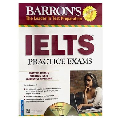 Barron's_IELTS Practice Exams (S + 2CD) (Tái Bản 2017)