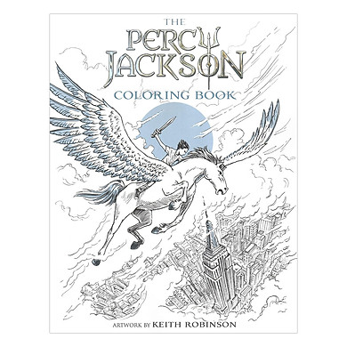 The Percy Jackson Coloring Book (Percy Jackson and the Olympians) (Artwork by Keith Robinson)