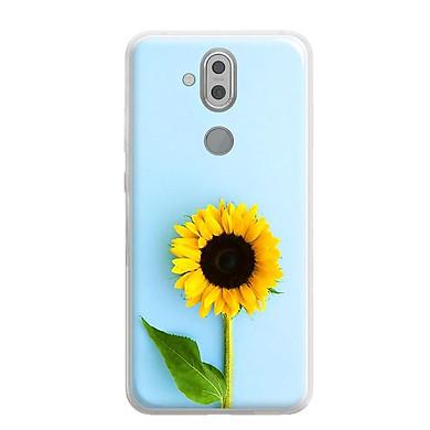 Ốp lưng dẻo cho Nokia 8.1 ( Nokia X7 2018) - 0325 SUNFLOWER05 - Hàng Chính Hãng