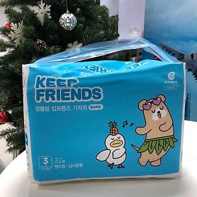 Tã dán nội địa Hàn Quốc Enblanc Keep Friend size 3 (M 32 miếng)
