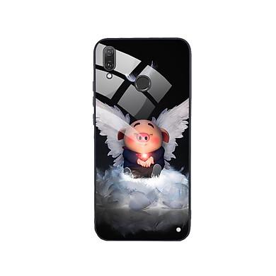 Ốp Lưng Kính Cường Lực cho điện thoại Huawei Y9 2019 - Pig 21