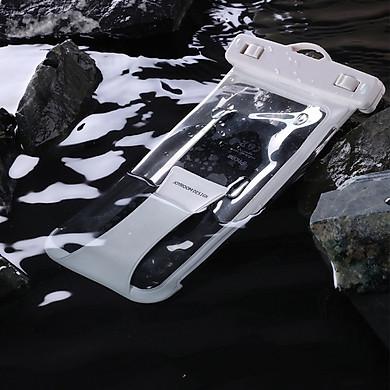 Túi chống nước chuẩn IPx8 hiệu cho điện thoại từ 6.5 inch hiệu Joyroom CY cảm ứng nhạy chụp ảnh nét (Chuẩn IPx8, Chống nước sâu 40M, vật liệu cao cấp) - Hàng chính hãng