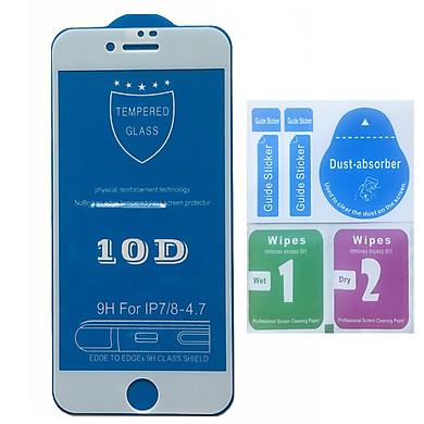 KÍNH CƯỜNG LỰC 10D CHO IPHONE FULL MÀN KÍNH TỪ IP6 ĐẾN XS MAX