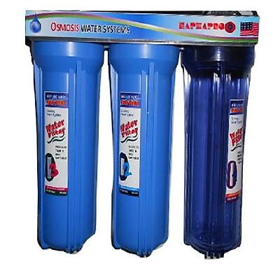 Bộ lọc nước sinh hoạt NaPhaPro - 3 cấp lọc 10 inches - CP3-10 (Hàng chính hãng)