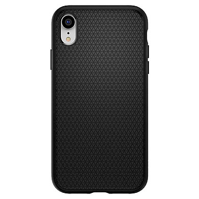 Ốp Lưng iPhone XS Spigen Liquid Air Matte (Black - 063CS25114) - Hàng Chính Hãng