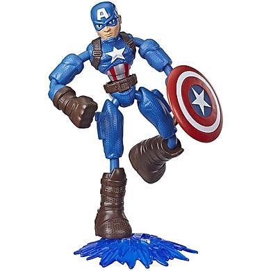 Đồ Chơi Nhân Vật Captain America Avengers Bend N Flex E7869