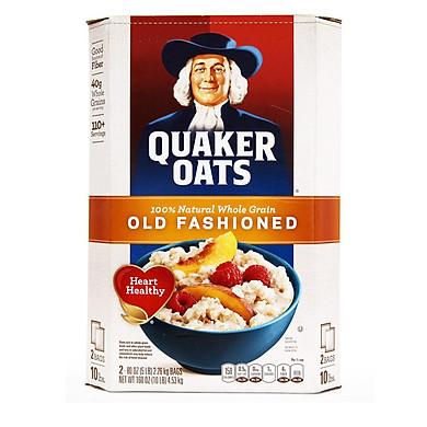 Hộp 4,52Kg Yến Mạch Quaker Oats Nhập Khẩu Từ Mỹ Nguyên Kiện