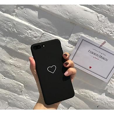 Ốp lưng dành cho điện thoại iPhone hình trái tim ốp đôi