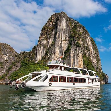 [Tour VIP] Hạ Long 01 Ngày, Tàu 4 Sao Alova Premium, Xe Đưa Đón Từ Hà Nội, Đi Và Về Đường Cao Tốc